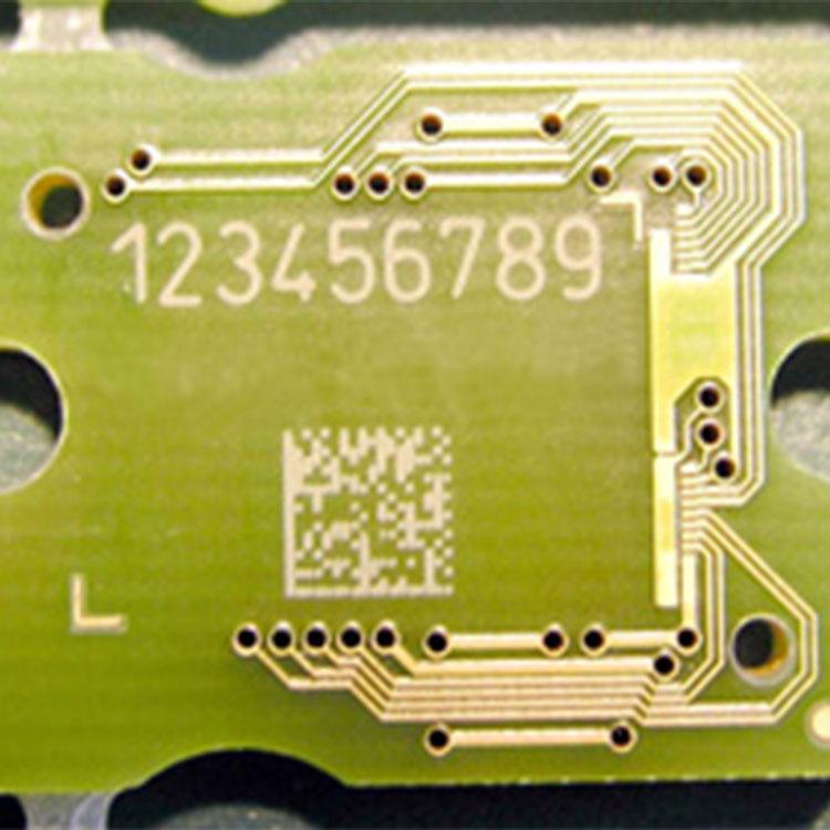 电路板光纤激光机效果图