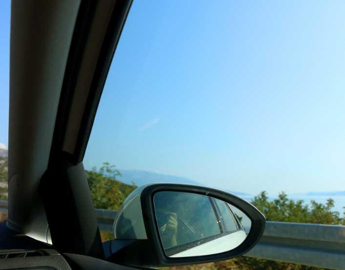 汽车玻璃反光镜追溯